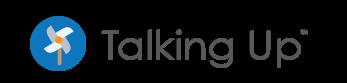 talking up logo